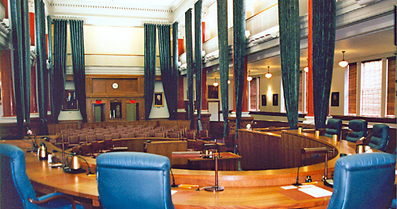 Appellate Court courtroom